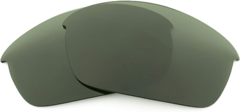Revant Verres de Rechange pour Oakley Flak Jacket (Coupe Asiatique) Gris Vert - Polarisés