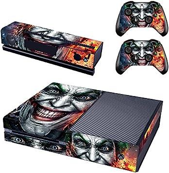 REYTID Consola Piel/Pegatina + 2 x Calcomanías del Controlador & Envoltura Kinect Compatible con Microsoft Xbox One: Amazon.es: Electrónica