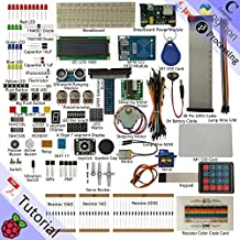 Freenove RFID Starter Kit for Raspberry Pi   Beginner Learning   Model 3B, 2B, B+   Python, C, Java, Processing   53 Projects, 391 Pages Detailed Tutorials, 200+ Components