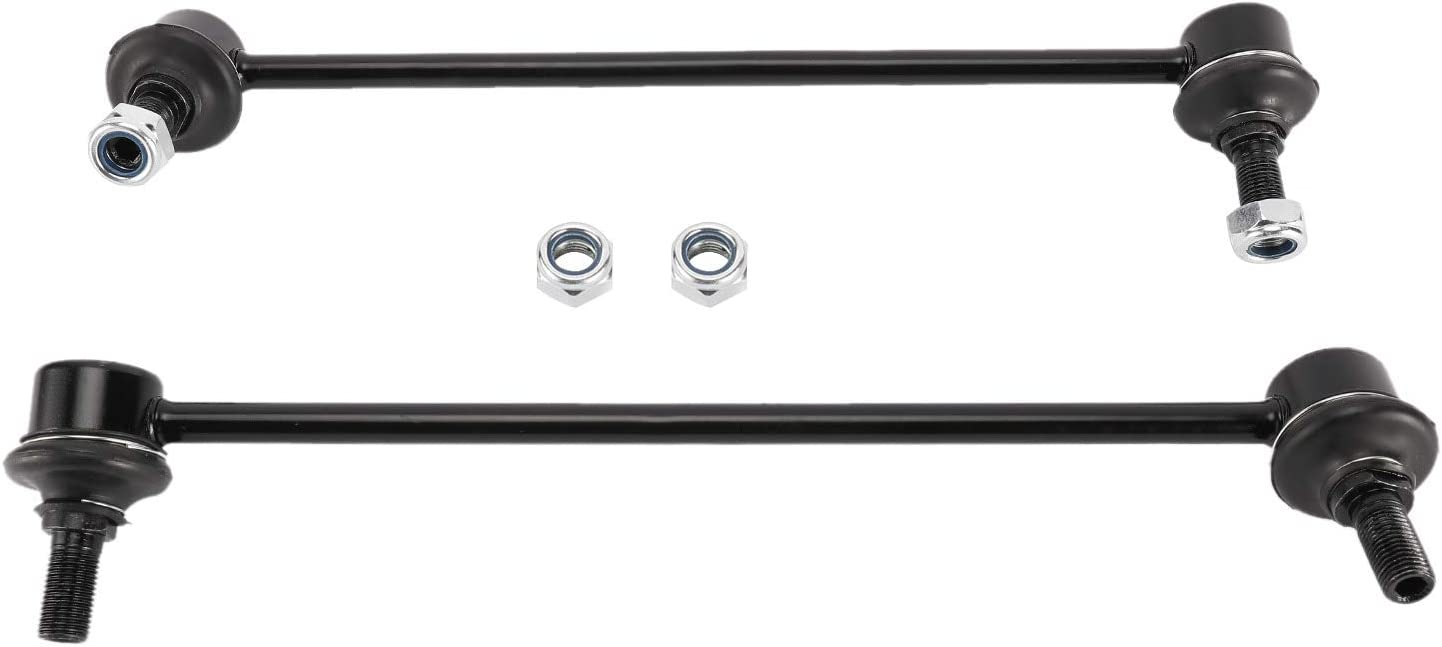 HighFree 2PC Steering Front Sway Bar End Links Stabilizer Bar Replacement Kit Compatible for Pontiac Vibe 2003-2010 Compatible for Scion tC 2005-2010 Compatible for Toyota Corolla 2003-2015