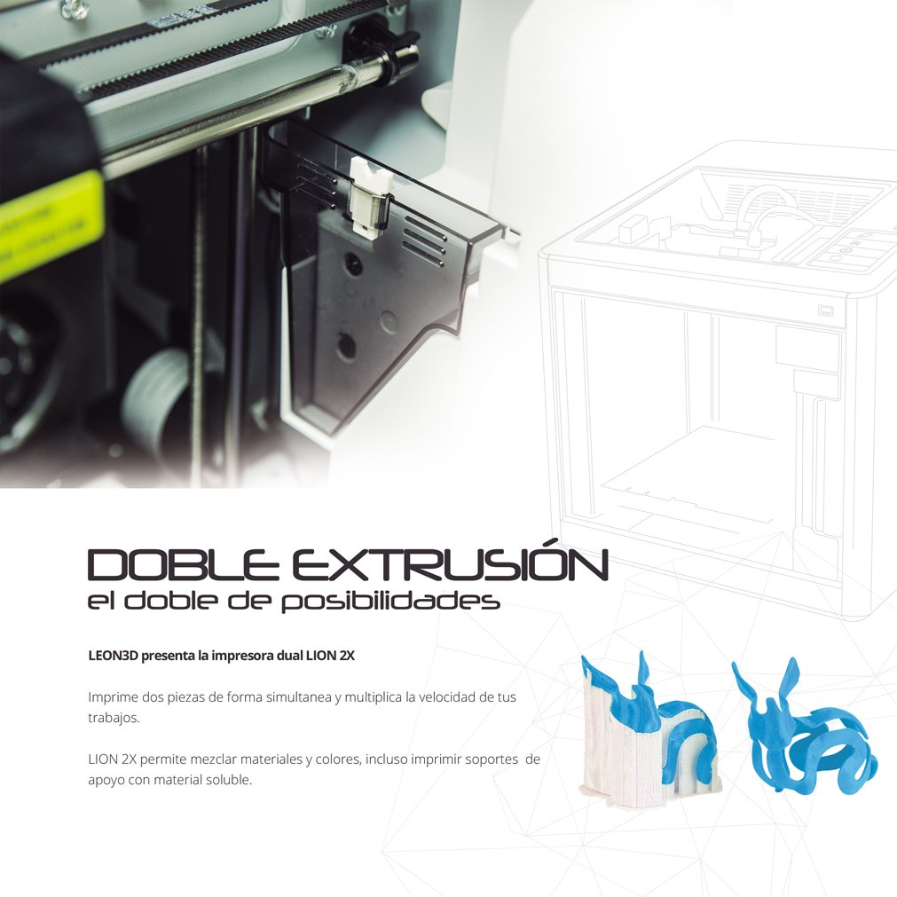IMPRESORA 3D LION 2X: Amazon.es: Industria, empresas y ciencia