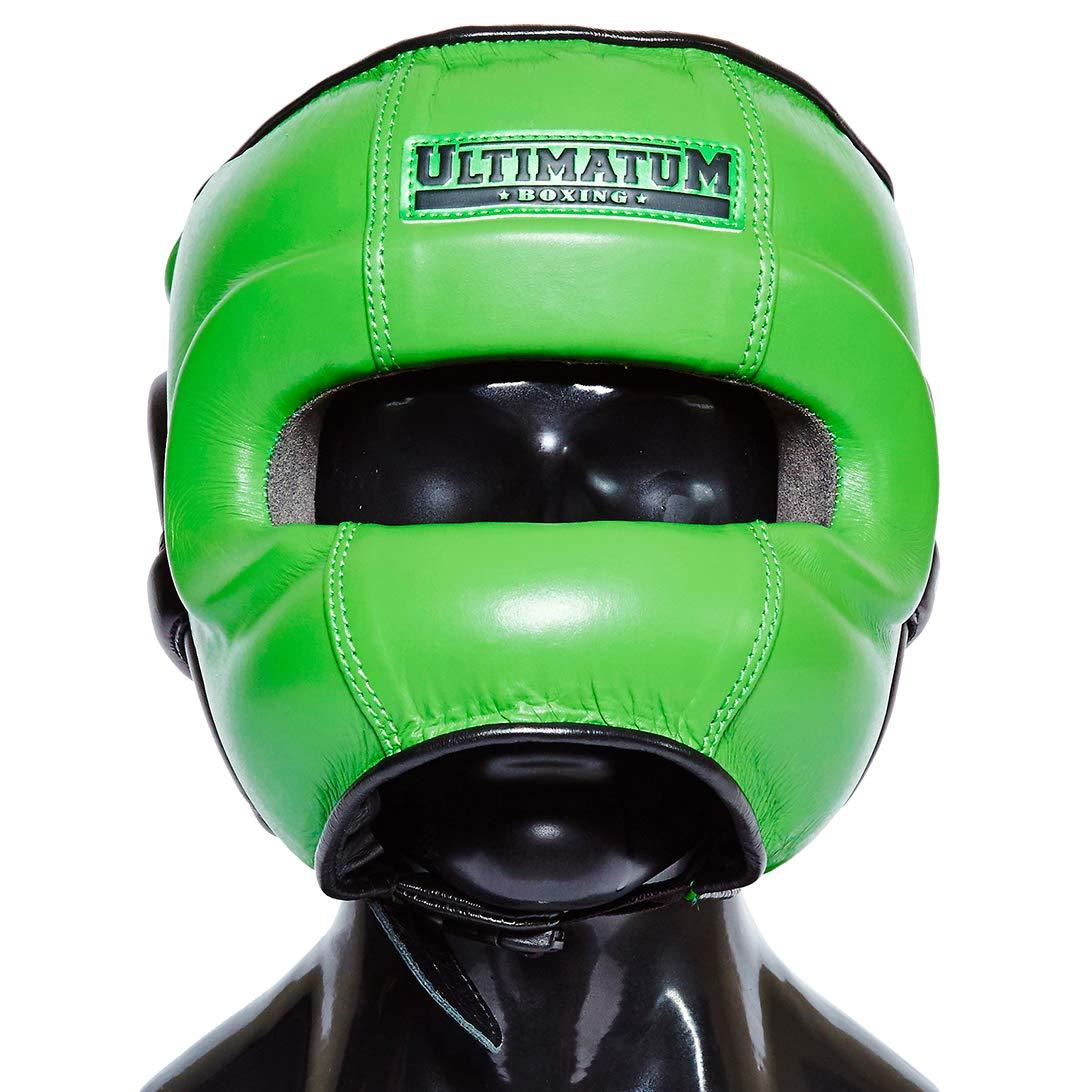 Ultimatum ボクシング プロフェッショナル フェイスバー ヘッドギア Gen3FaceBar Hunter Large  B07LDV5FMC
