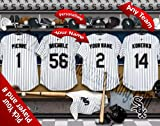 Chicago White Sox Team Locker Room Clubhouse Personlized Officially Licensed MLB Photo Print