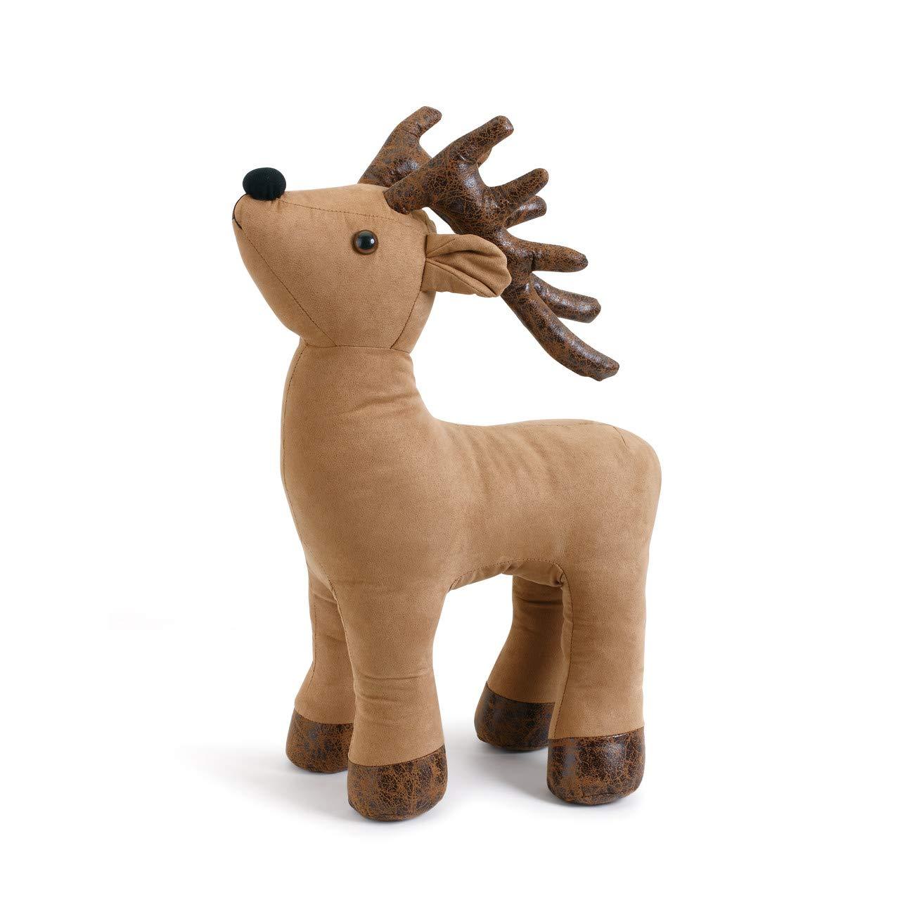 Lodge Living Demdaco Faux Suede Deer Door Stop