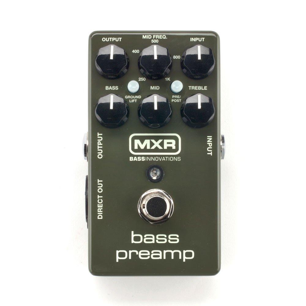 Jim Dunlop M81 Bass Preamp Pedal 11081000001