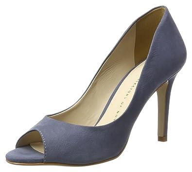 Bronx BX 1267 Bfloridax, Escarpins Bout Ouvert Femme, (Jeans Blue 2004), 36 EU