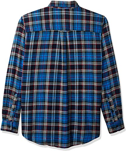 Shirt Run Flannel Maglia Trout Long Da Uomo Asphalt Con Woolrich Bottoni HqxnXtZ