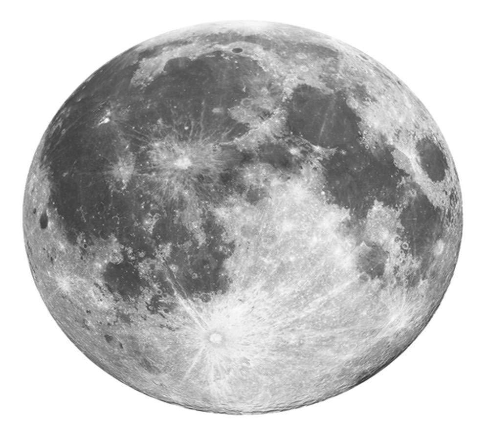 カーペット、創造的な月の研究ラウンドカーペットシンプルで柔らかくて快適(サイズ:直径140CM) B07SGXGXKG  Diameter 140CM