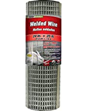 Midwest Air Technologies G and B 309312A 24-Inch x 25-Foot 1-Inch Galvanized Mesh Welded Fence