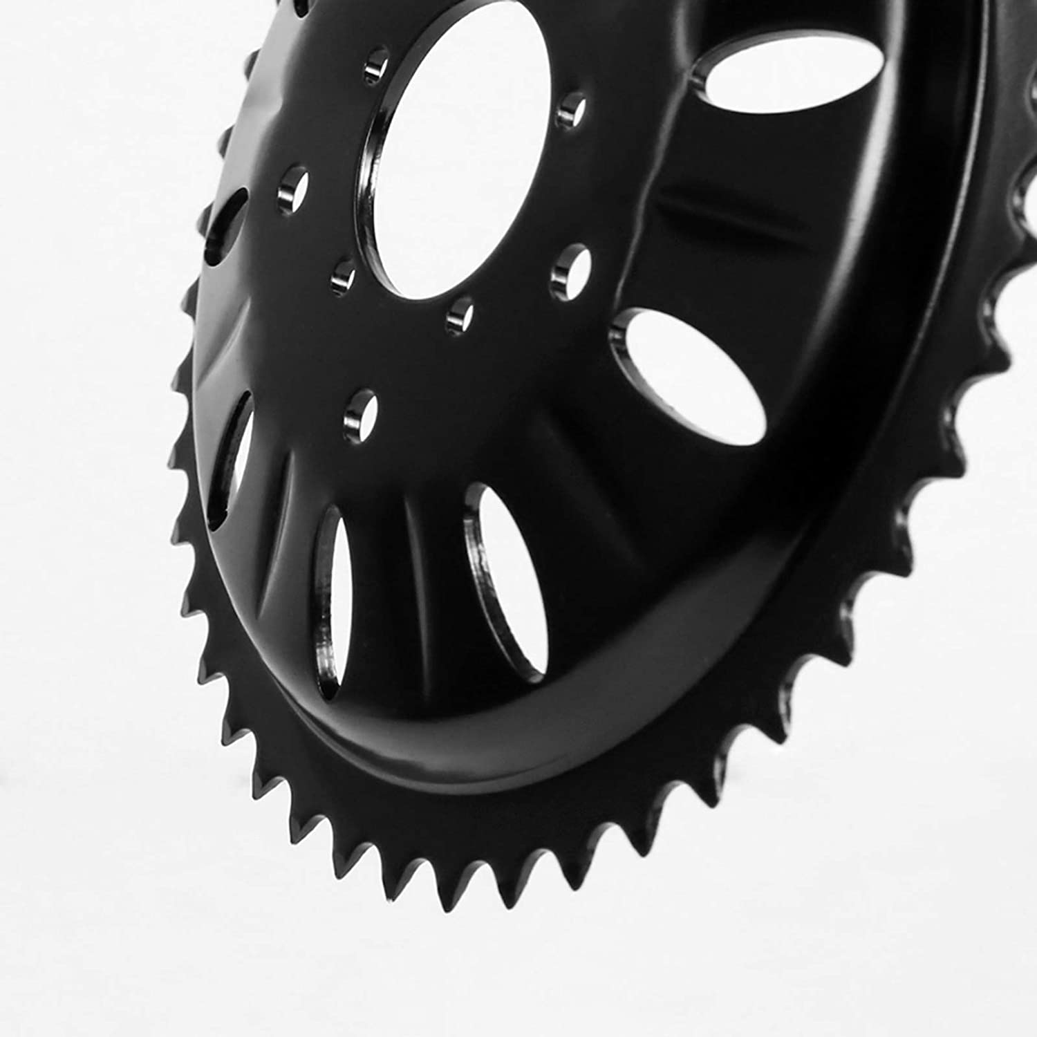 Bafang Chainring with Plastic Guard BBS 44T//46T//48T//52T Ebike Mid Motor Chainwheel for BBS01//02 BBSHD Mid Drive