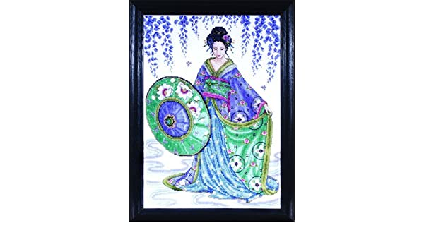 Garden Geisha Design Works Cross Stitch Kit