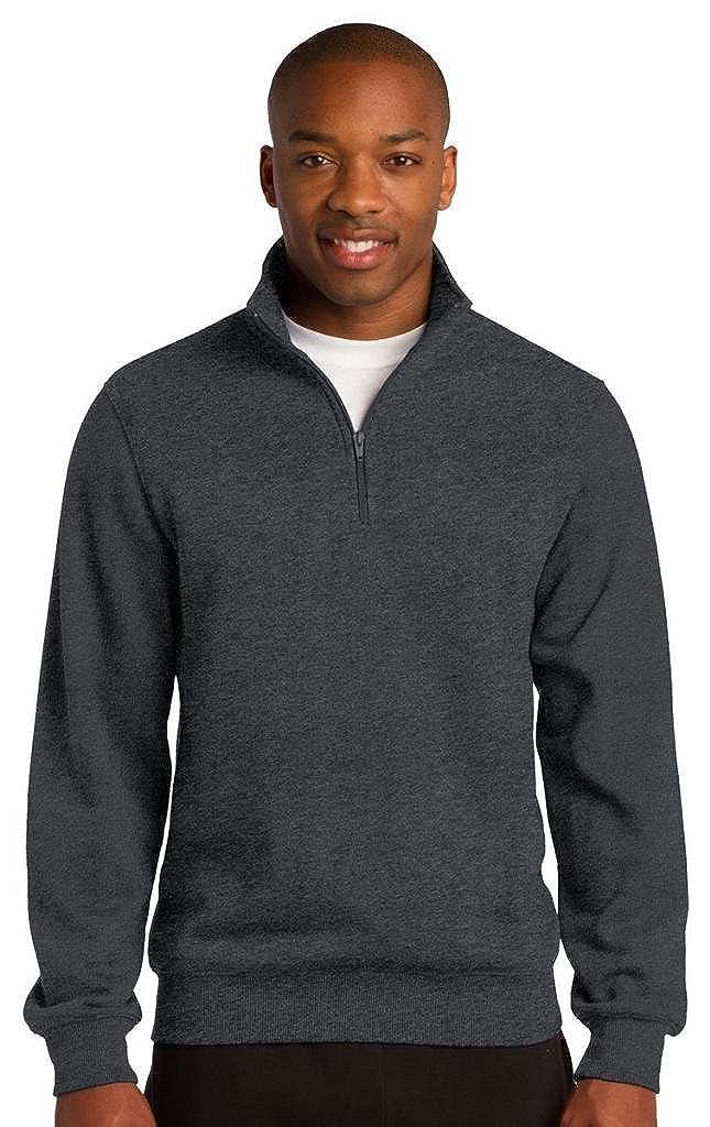 Sport-Tek 1//4-Zip Sweatshirt3XL Graphite Heather ST253