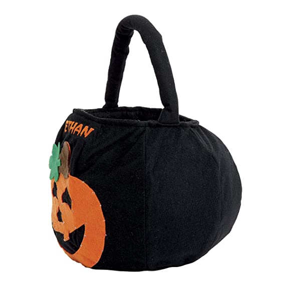 Magnificent Lillian Vernon Blinking Pumpkin Personalized Halloween Treat Bag Light Up Trick Or Treat Tote Candy Basket For Kids 100 Polyester 9 X 9 X Caraccident5 Cool Chair Designs And Ideas Caraccident5Info