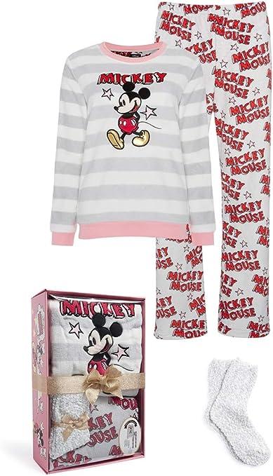 Mujer Pijama Mickey Mouse Estampado Set Pijama Pack - Multi ...
