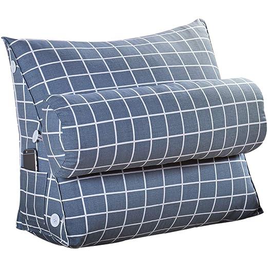 TY-Cushion MMM Almohada de cabecera Triángulo Cojín Sofá ...