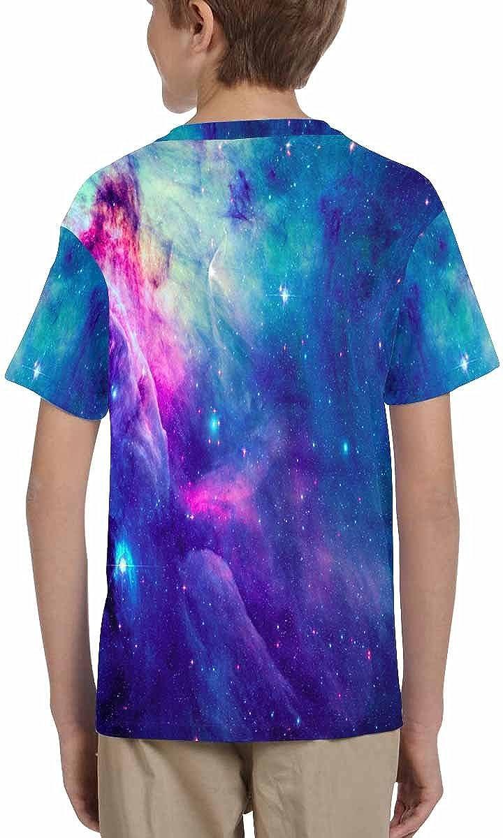 INTERESTPRINT Stellar Space Nebulae Childs T-Shirt XS-XL