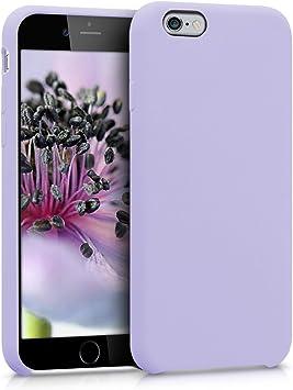 kwmobile Coque pour Apple iPhone 6 / 6S - Coque Étui Silicone - Housse de téléphone Lavande