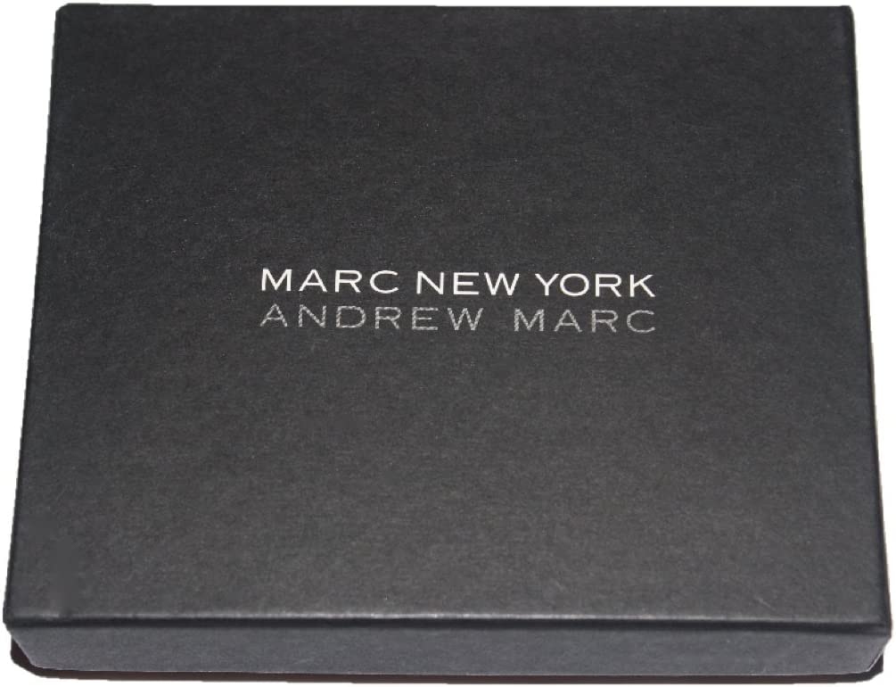 Black Marc New York by Andrew Mark Genuine Leather Billfold Wallet