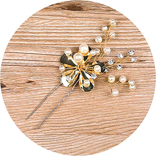 Wholesale Dropship Costumes Jewelry - Elegant Handmade Golden Crystals Rhinestones Flower