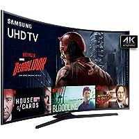 Samsung UN55KU6300 - TV LED 55´´ 4K Curva SMART TV Wide 3HDMI/2USB Preto