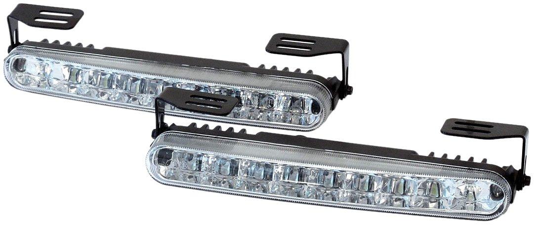 Dino 610791 LED Tagfahrlicht eckig ECE R87 LED TAGFAHRLICHT 18 LED