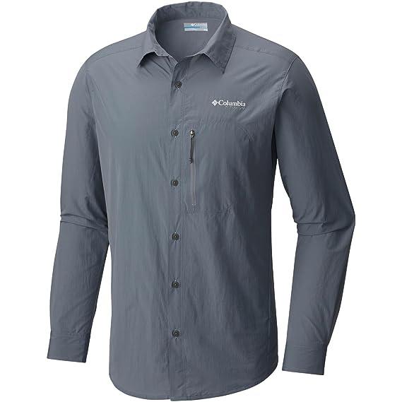 349f80fdbd27 Columbia Featherweight Hike Shirt - Long-Sleeve - Men s Grey Ash