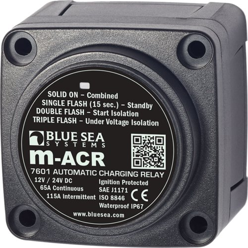 Blue Sea Systems m-Series Automatic Charging Relay - 12/24V DC / ()
