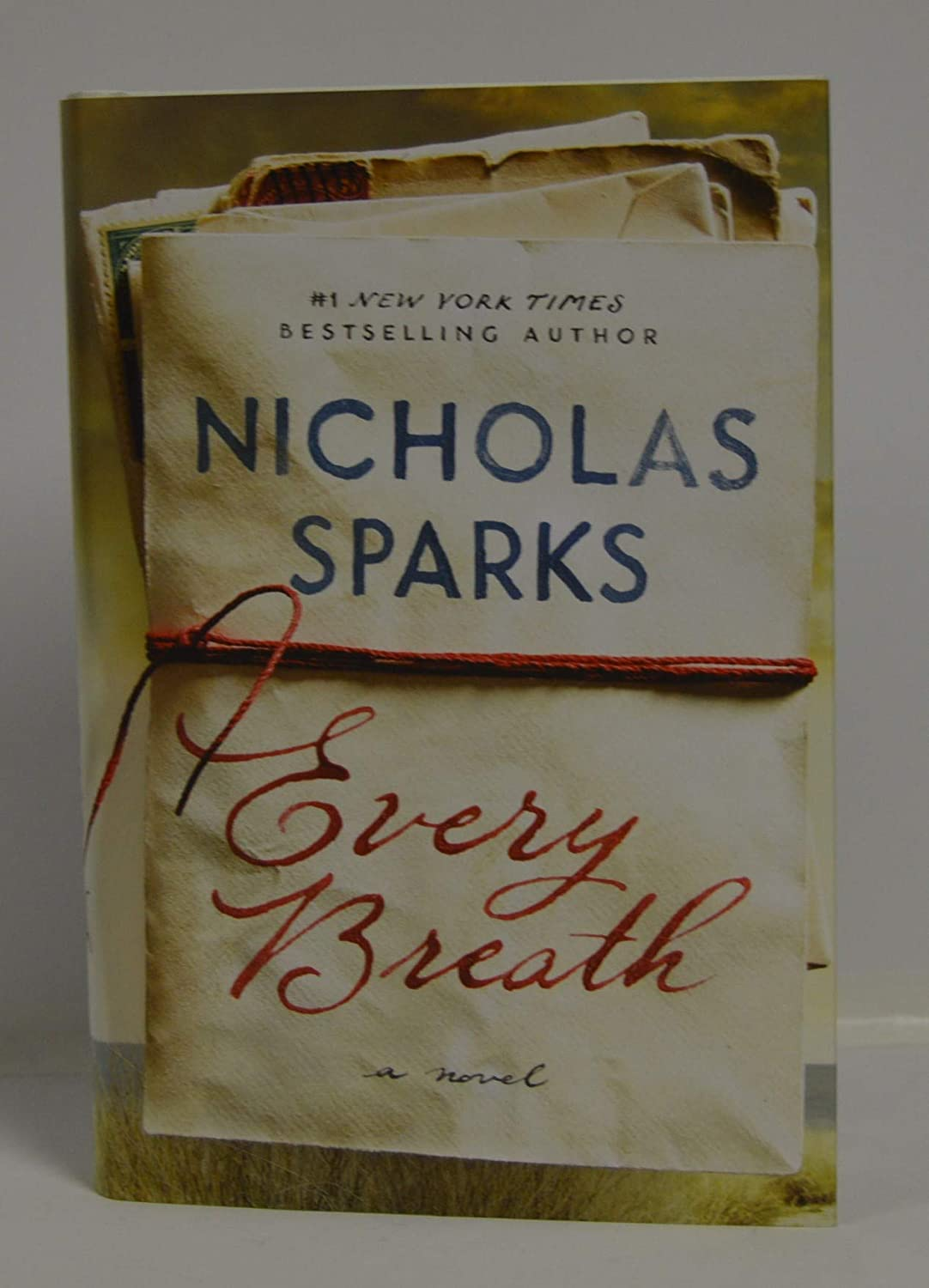 NICHOLAS SPARKS signed 'Every Breath' (Hardcover) Book FIRST EDITION/FIRST PRINTING