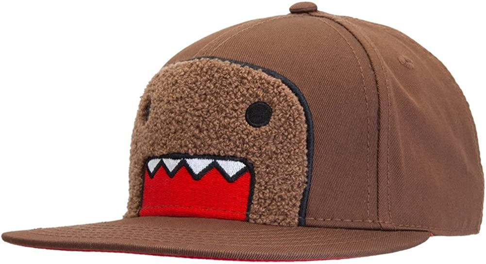 Domo - Mens Domo - Peeking Snap Back Cap Brown