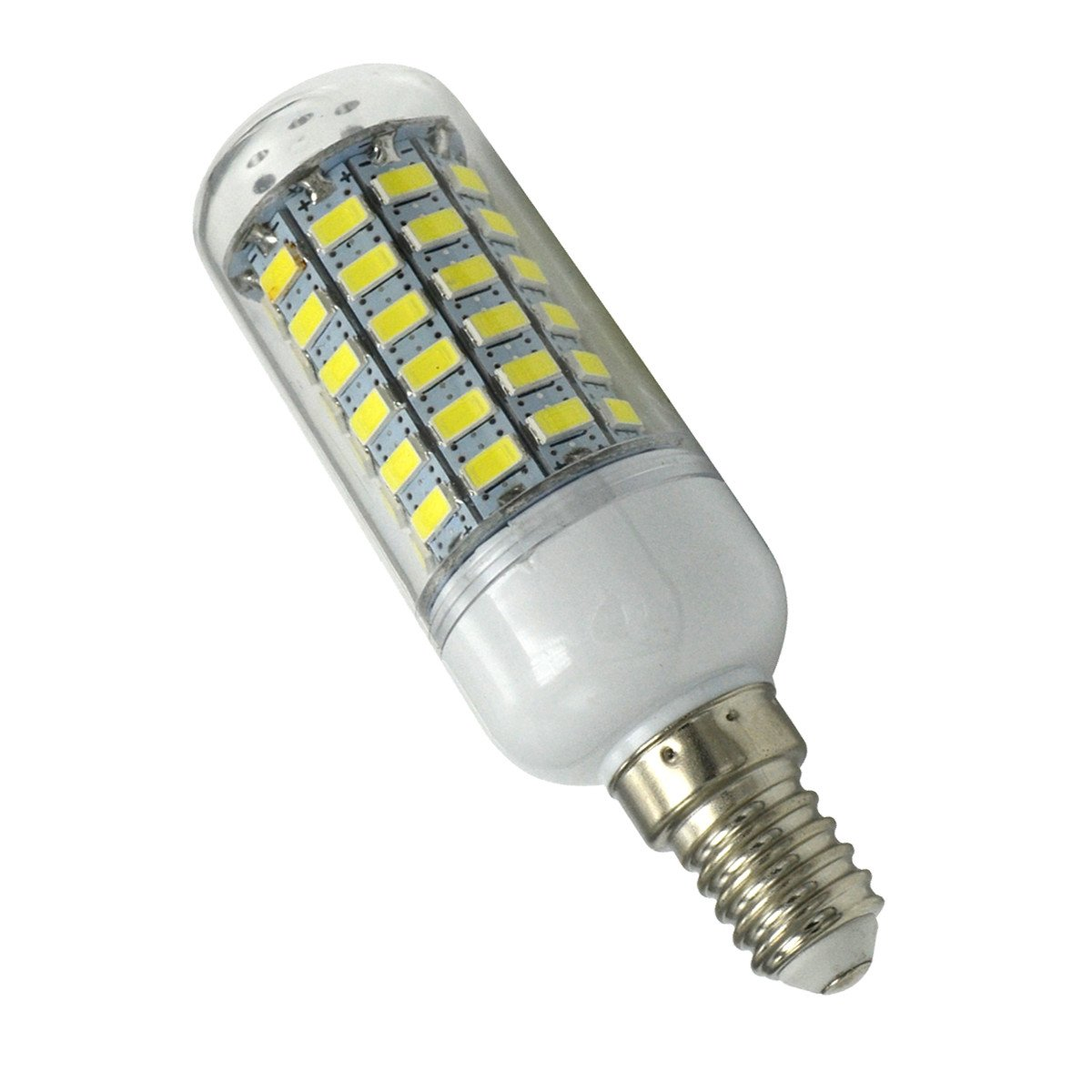 Aoxdi 5X LED E14 Bulbs Light 10W, Cool White, 69 SMD 5730 Edison Screw LED Light Bulbs Lighting, AC220-240V