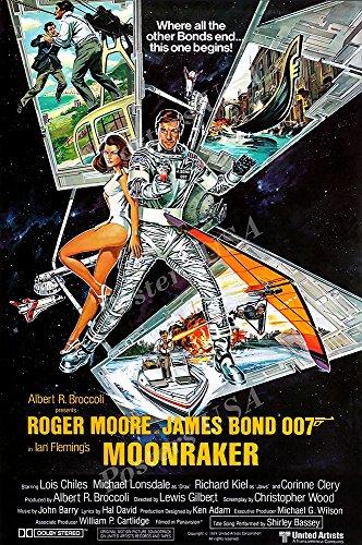 Posters USA - 007 Moonraker James Bond Movie Poster GLOSSY F