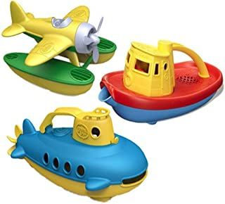 product image for Green Toys Water Vehicle Bundle - Yellow