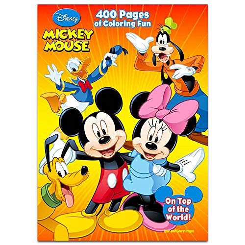 (Disney Mickey Mouse: 400 Pages of Coloring)