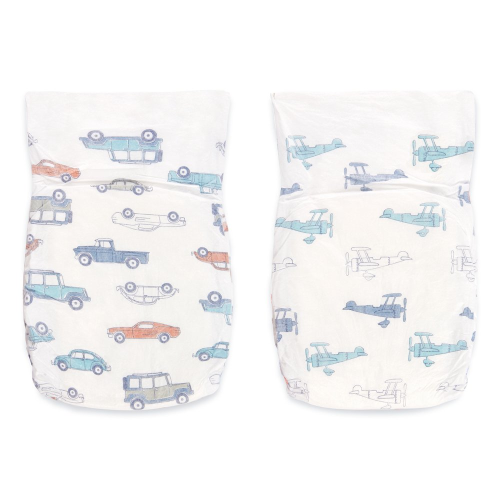aden + anais Disposable Diapers, Hypoallergenic, Chemical-Free, Sensitive  Skin Safe,