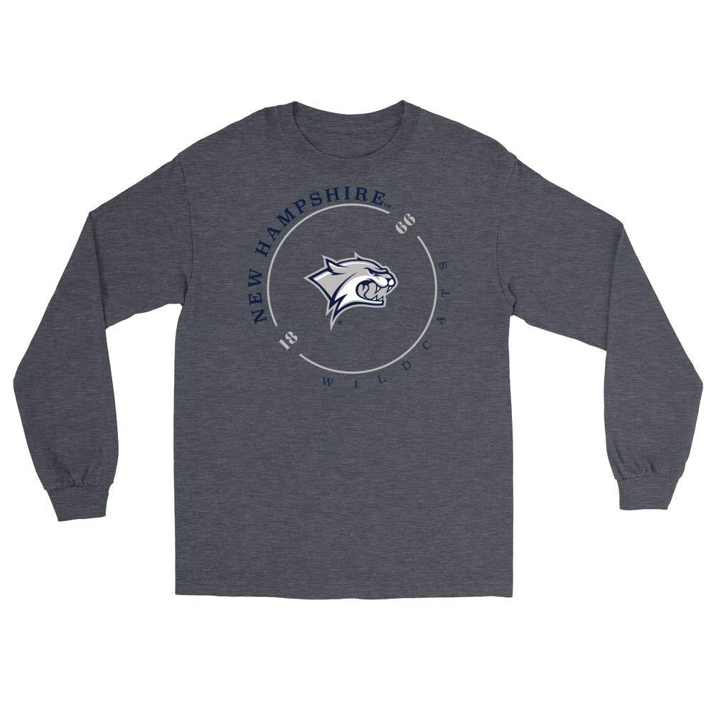 RYLNHM11 Mens//Womens Boyfriend Long Sleeve Tee Official NCAA New Hampshire University Wildcats