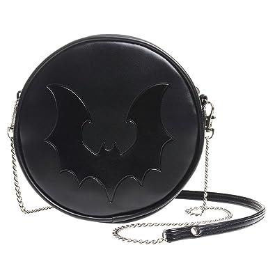 Handbags Shoulder Bags Gothic Lolita Black Bat Night Hound Moonlight