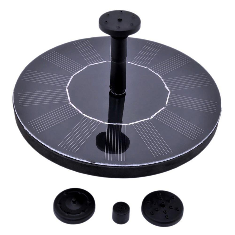 BEST.LIV Solar Fountain,Floating Solar Pump Bird Bath Fountain Self powered For Garden and Patio Watering