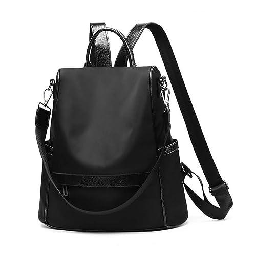 967b3e38bde AnewGeek PU Leather Zipper Backpack Fashion School Shoulder Bag Handbags  for Women Teenage Girls