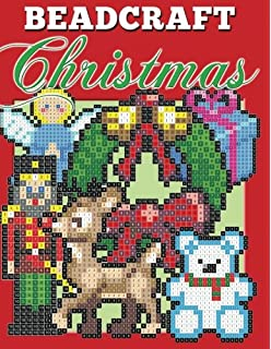 beadcraft christmas holiday patterns for perler qixels hama simbrix fuse - Christmas Perler Bead Patterns