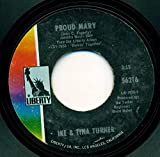 proud mary / funkier than a mosquita's tweeter 45 rpm single