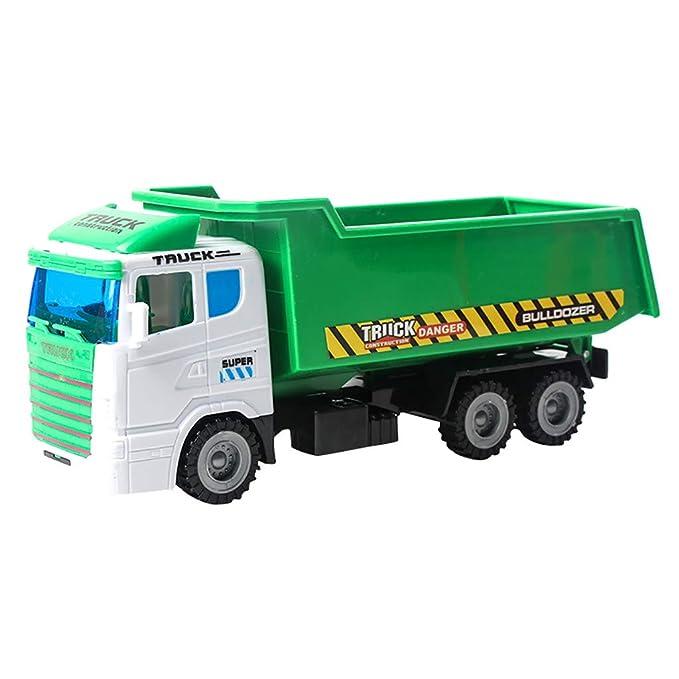Juguetes Vehículos De Construcción Fricción Coches Motorizados Empuje Y Vaya Coche Juguete Regalo para Niños: Amazon.es: Juguetes y juegos
