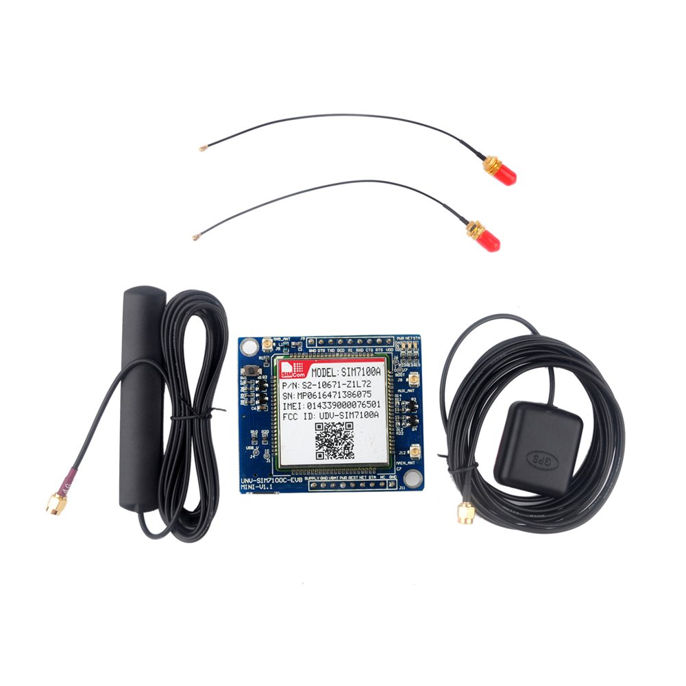 SIM7100A 4G Development Board for Arduino Raspberry Pi 5-18V Android Linux Windows