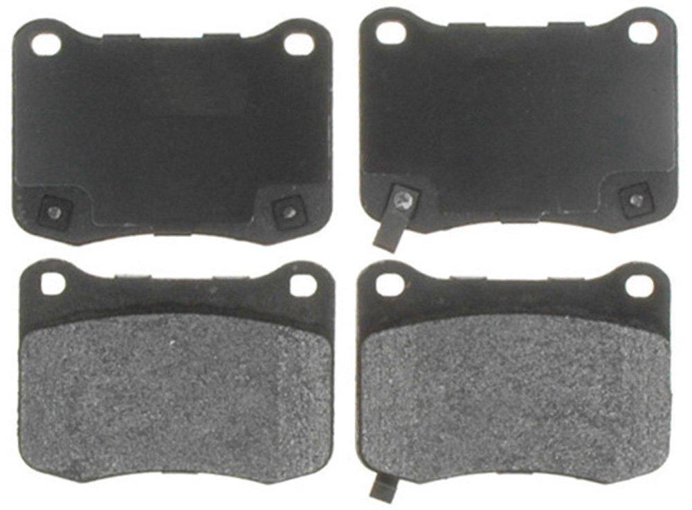 Raybestos ATD1366M Advanced Technology Semi-Metallic Disc Brake Pad Set