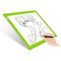 Dimmable A4 LED Tracer Light Box Slim Light Pad, ME456 USB Power Drawing Copy Board Tattoo Tracing LED Light Table for…