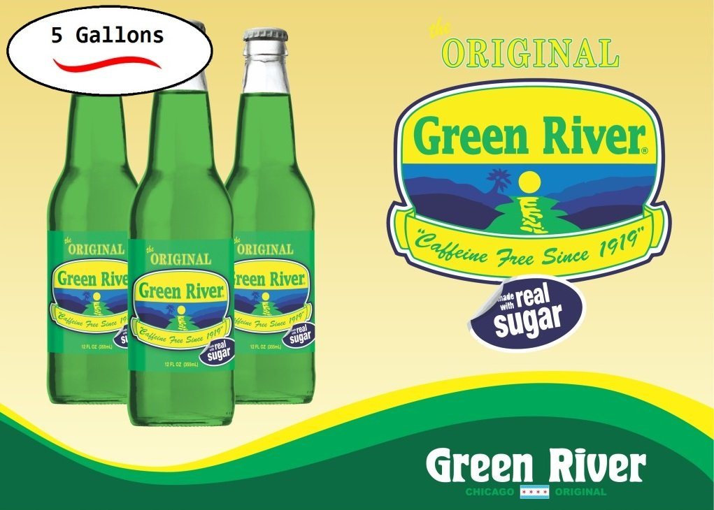 Image result for green river soda