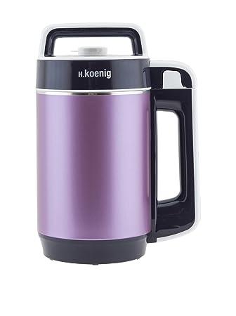 H.Koenig MXC24 Preparador de sopas, 850 W, Acero Inoxidable, plástico, Morado: Amazon.es: Hogar