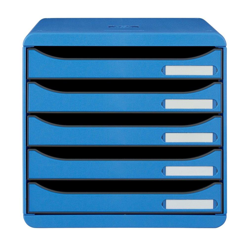 EXACOMPTA エグザコンタ オーストリア製ファイルケース 無地5段 H26717(サイズはありません エ:アイスブルー) B079BLVPRD エ:アイスブルー エ:アイスブルー