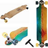 Xtreme Free Professional Speed Drop Down Complete Longboard Skateboard(42 Inches)