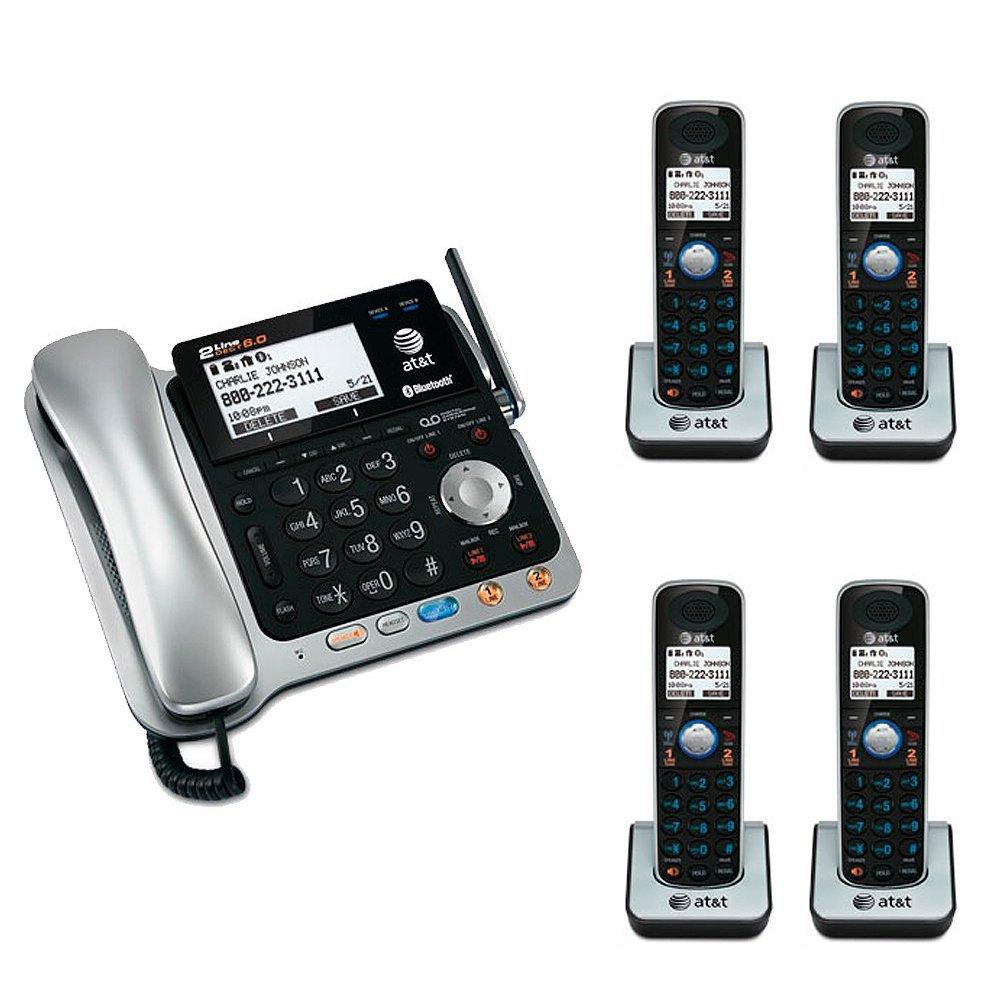 amazon com at t tl86109 dect 6 0 2 line bluetooth cord cordless rh amazon com Uniden-DECT 6.0 User Manual AT&T DECT 6.0 Manual