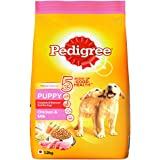 Pedigree Puppy Dry Dog Food, Chicken & Milk, 1.2kg Pack
